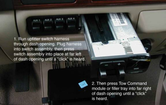 Upfitter Switches F250